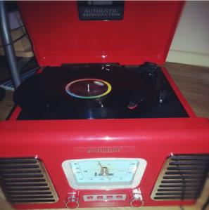 My treasured record player