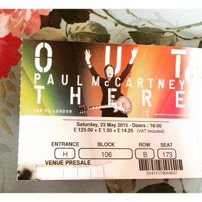 Paul McCartney Out There London 23rd May O2 Arena